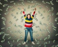 Выигрыш лотереи бесплатная иллюстрация