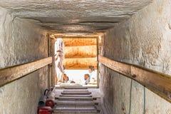Выйдите от пирамиды G1c стоковая фотография