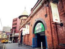 Выйдите торговый центр вышед на рынок на рынок города в сердце ` s Чайна-тауна Сиднея, изображения в кинематографическом цвете то Стоковое Изображение