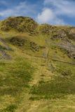 Выйдите уклон шахты шифера Rhosydd стоковое изображение