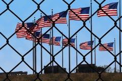 Выключение правительства над законопроектом об иммиграции daca стоковая фотография rf