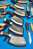 Выкованные ножи тяпки Стоковое фото RF