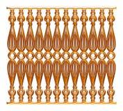 Выкованный декоративный орнамент строба изолированный на белой предпосылке Стоковые Изображения RF