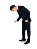Выкрикивать человека Стоковое Фото