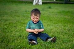 выкрик младенца Стоковая Фотография
