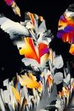 выкристаллизовыванные химикаты Стоковое Изображение RF