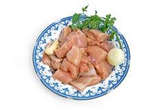 выкружка цыпленка Стоковая Фотография RF