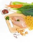 выкружка цыпленка сырцовая Стоковые Изображения RF