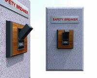 Выключатель безопасности Стоковая Фотография