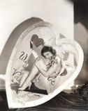 Выключатель сердца стоковые изображения