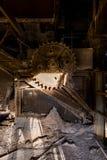 Выключатель угля антрацита Abandoened - Пенсильвания Стоковые Изображения