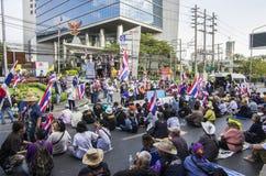 Выключение Бангкока: 14-ое января 2014 Стоковые Фото