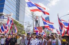 Выключение Бангкока: 14-ое января 2014 Стоковое Изображение RF
