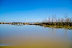 Выключение моста Стоковые Фото