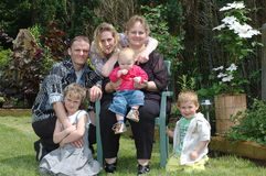 вылазка поколений семьи Стоковое Фото