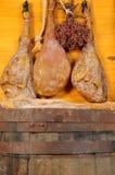 вылеченная ветчина Стоковая Фотография