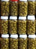 вылеченные оливки Стоковые Изображения RF