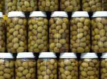 вылеченные оливки Стоковое фото RF