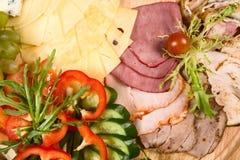 вылечено режущ мясо стоковые изображения rf