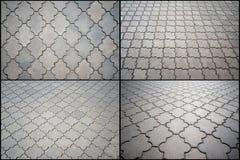 Вымощать от вычисляемых плиток 4 варианта Стоковое фото RF