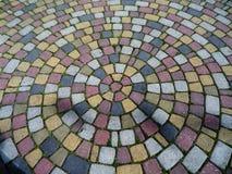 Вымощая камни в парке Стоковые Изображения RF