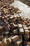 Вымощая камни на стоге Стоковое Фото
