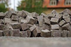 Вымощая камни Стоковые Изображения RF