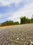 вымощенная дорога стоковое фото