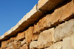 вымощенная стена Стоковые Изображения RF