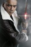 Вымышленный персонаж - современный самурай Стоковое Фото