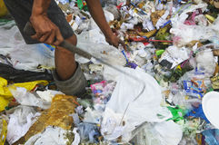 выноситель отброса стоковая фотография rf
