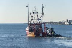 Выносливость New Bedford рыболовецкого судна ягуара гужа стоковая фотография