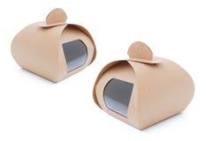 Вынос бумажной коробки стоковые изображения