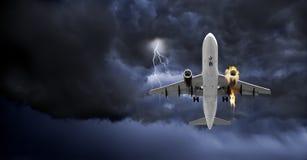Пожар на борту Стоковые Фотографии RF