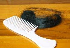 Выпадение волос стоковое фото rf
