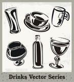 выпивает серию иллюстрация штока