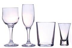 выпивает стекла Стоковое Изображение