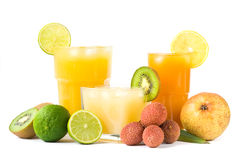 выпивает тропическое Стоковые Фото
