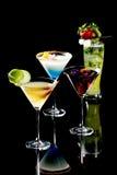 выпивает тропическое Стоковые Фотографии RF