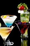 выпивает тропическое Стоковое Изображение