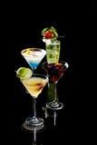выпивает тропическое Стоковая Фотография