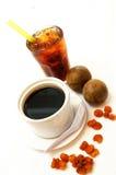 выпивает longan Стоковые Изображения RF