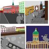 Выпивать в Санкт-Петербурге Бесплатная Иллюстрация