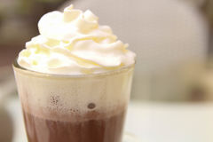 выпивать какао Стоковые Изображения RF