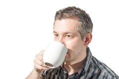 выпивать кофе Стоковое фото RF