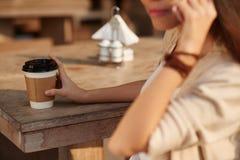 выпивать кофе Стоковые Фотографии RF