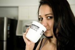 выпивать кофе Стоковая Фотография RF