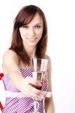 выпивать шампанского Стоковые Изображения RF