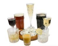 выпивать 4 часа 20 Стоковое Изображение RF