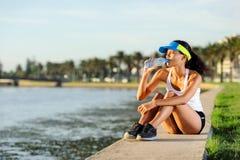 выпивая бегунок Стоковая Фотография RF